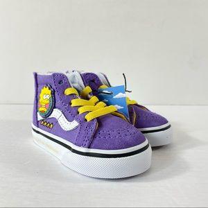 Vans x The Simpsons Sk8-Hi Zip Sneakers